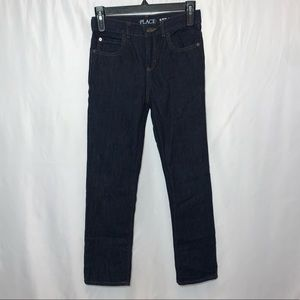 Children's Place Youth Boy Denim Straight Jeans